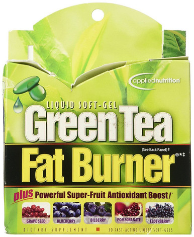 Applied Nutrition Green Tea Fat Burner 30 Liquid Soft-Gels
