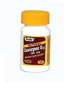 Rugby Labs CoEnzyme Q10 100 mg 30 Softgels