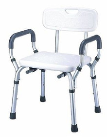 Essential Medical Supply Shower Bench with Arms and Back #B3011
