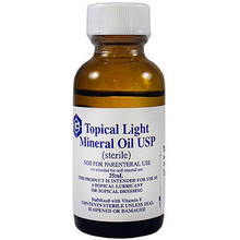 Geritrex Topical Light Mineral Oil USP 25 ml x 25 case