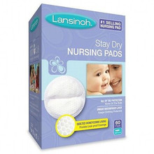 Lansinoh Stay Dry Disposable Nursing Pads 60 ct