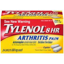Tylenol 8 Hour Arthritis Pain Caplets 24 Count