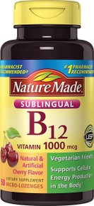 Nature Made Vitamin B-12 1000 MCG Sublingual 50 Count