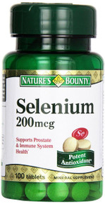 Nature's Bounty Selenium 200 Mcg 100 Tablets