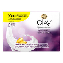 Olay Moisture Outlast Age Defying Beauty Bar Soap 2 count x 7.5 oz