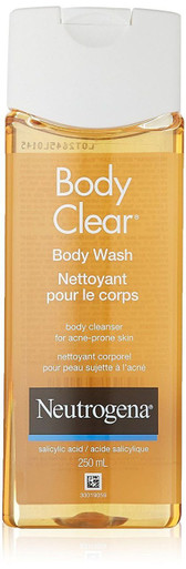 Neutrogena Body Clear Body Wash for Clean Clear Skin 8.5 Oz