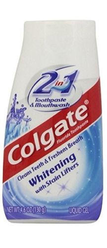 Colgate 2 in 1 Whitening Toothpaste 4.6 Oz