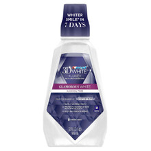 Crest 3D White Luxe Glamorous White Multi-Care Whitening Fresh Mint Mouthwash