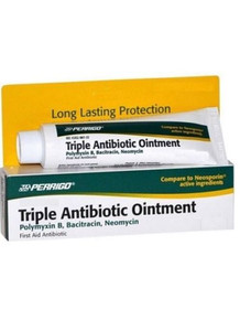 Perrigo Triple Antibiotic Ointment 0.5 oz First Aid Antibiotic