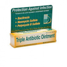 Perrigo Triple Antibiotic Ointment First aid Bacitracin, Neomycin Sulfate 1 oz