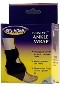 Bell-Horn ProStyle Ankle Wrap in Black