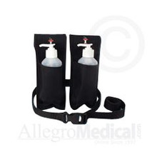 Double Oil and Lotion Holster with two 8oz bottles
