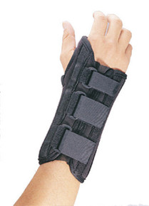 FLA Pro-Lite Airflow Wrist Support Brace Medium Right Black 6 1/2 - 7 1/2""