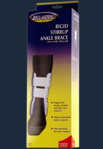 Bell-Horn Rigid Stirrup Ankle Brace Regular 9.5""