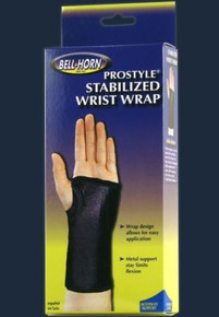 "Bell-Horn ProStyle Stabilized Wrist Wrap Universal Size 4-11"" Right 313-RT"