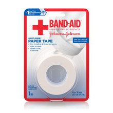 Band-Aid Paper Tape 1INX10YD 2 Count