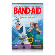 Band-Aid Featuring Disney Frozen Assorted Sizes Adhesive Bandages 20 Ct