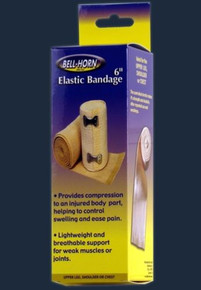 "Bell-Horn 6"" Elastic Bandage with Clip Lock"