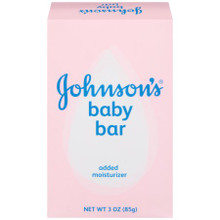 Johnson's Baby Bath Bar 3 Ounce