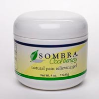 Sombra Pain Relief Cool Therapy Lemon Scent 4 Oz