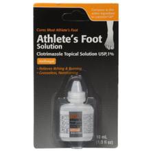 Taro Athletes Foot Solution Clotrimazole Topical Solution 1% Antifungal 10 mL