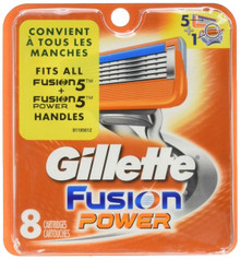 Gillette Fusion Power Refill Cartridges 8 ct