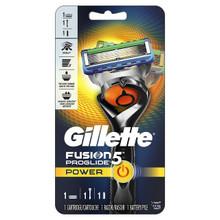 Gillette Fusion5 ProGlide Power Men's Razor, 1 Razor, 1 Cartridge, 1 Battery