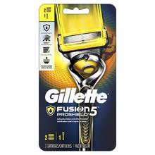 gillette fusion 5 proshield men's razor handle & blade refill 2 cartridge