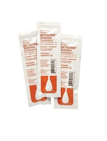Purdue Betadine Solution Swabsticks 10% povidone-iodine 3CT X 50 Packs