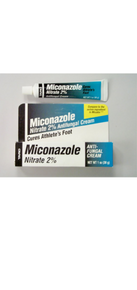 TARO Miconazole Nitrate 2% Anti Fungal Cream 0.50 OZ Cures Athletes Foot
