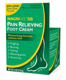 Magni Life DB Pain Relieving Foot Cream 4 Oz severely dry, cracked, itchy skin