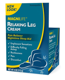 Magni Life Relaxing Leg Cream 4 Oz, Relaxes unpleasant sensations in the legs
