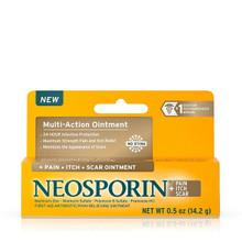 Neosporin + Pain, Itch, Scar Antibiotic Ointment 0.5 Oz