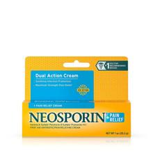 Neosporin + Pain Relief Dual Action Cream 1 Oz First Aid Antibiotic Cream