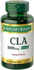 Nature's Bounty Tonalin 1000-CLA 50 Softgels Support for your Body-Shaping Goals