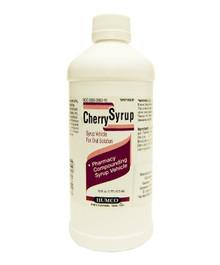 Humco Cherry Pharmacy Compounding Syrup 16 Oz