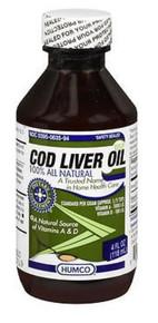 Humco Cod Liver Oil 4 Oz