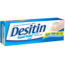 Desitin Rapid Relief Creamy - 4 Oz