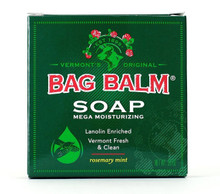 Bag Balm Mega Moisturizing Soap 3.9 Oz Lanolin-Enriched Vermont Clean & Fresh