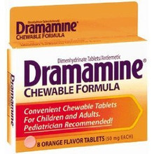 Dramamine Chewable Tabs Orange 8ct
