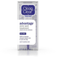 Clean & Clear Advantage Acne Spot Treatment Acne Medication 0.75 Oz