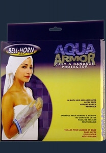 Bell Horn Aqua Armor Arm Cast Cover Waterproof Bandage Protector