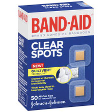 Band-Aid Brand Clear Spots, 50 per box