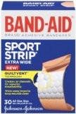 Band-Aid Sport Strip, Extra Wide - 30 each