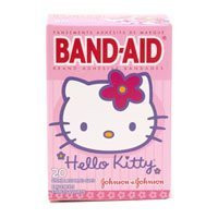 Band-Aid Childrens Adhesive Bandages, Hello Kitty - 20 Each