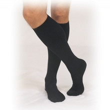 Truform 1954: Dress-style Support Sock Calf Length Men's 30-40