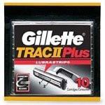 Gillette Trac II Plus Shaving Cartridges 10 Cartridges