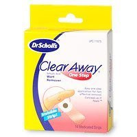 CLEAR AWAY ONE STEP WART REMOVER