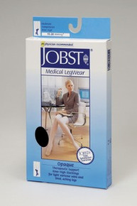 Jobst Opaque Open Toe Knee Highs 15-20 mmHg