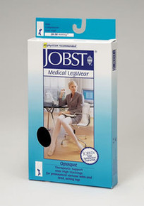 Jobst Opaque Open Toe Thigh Highs PETITE 20-30 mmHg